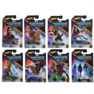 Hot Wheels Guardians of the Galaxy Vol 2. Diecast Vehicles - Full Set of 8